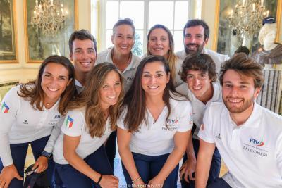 Presentata la squadra olimpica tricolore della FIV