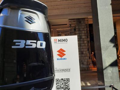Suzuki, la tecnologia fuoribordo in mostra al Milano Monza Motor Show 2021