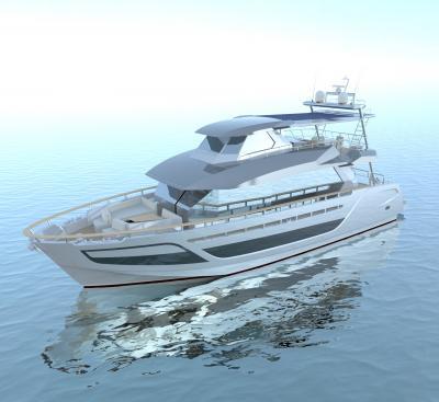 Fabiani Yacht fotovoltaico a scomparsa