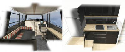Opera Prima Mare 37' ibrido e alluminio per la massima sostenibilità