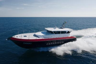 Motovedetta Carabinieri ibrida grazie a Transfluid