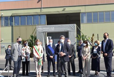 Inaugurato il centro vaccinale aziendale di Sanlorenzo