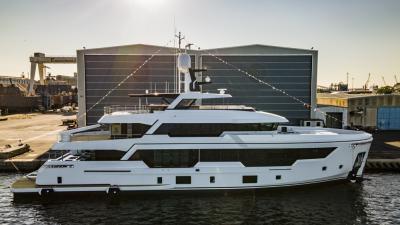 Rosetti Superyachts vara il primo RSY 38m EXP