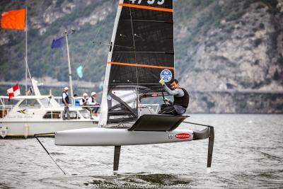 Francesco Bruni campione italiano 2021 Moth