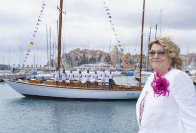 Diana Bracco dona al Comune di Imperia la barca d'epoca Beatrice