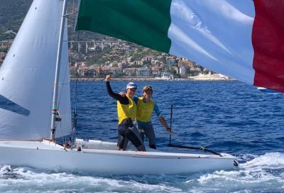 Marco Gradoni e Alessandra Dubbini vincono il Mondiale Jr 470 Mixed Olimpico