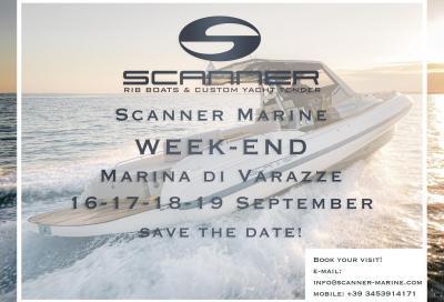 Scanner Marine, un weekend di prove a Varazze