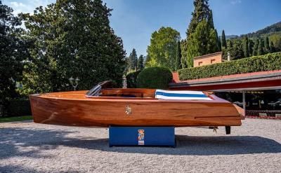 Grande successo per la prima Villa d'Este Style Electric Yachting 2021