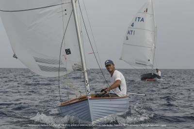 D'Albertas campione italiano classe Dinghy 12P