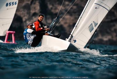 Chieffi e Colaninno Campioni Italiani 2021 della classe Star