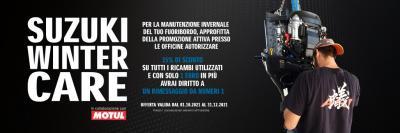 Suzuki Winter Care, la promozione invernale per il rimessaggio
