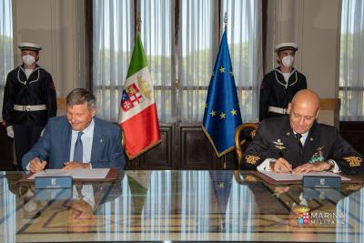 Rinnovato l'accordo tra Marina Militare e Lega Navale Italiana