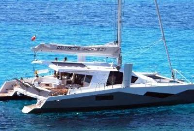 Diamante 555, catamarano innovativo