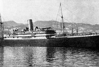 Storia, il relitto della nave Ancona