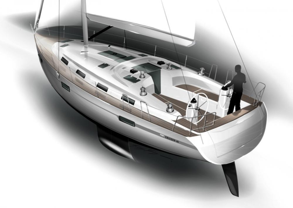 Bavaria cruiser 40 sfruttamento dello spazio vela e motore for Design dello spazio esterno