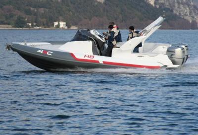 Honda 4XC H8, battello cabinato dal design ricercato