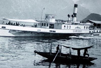 Storia, le navi del Lario