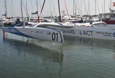 """Varato il nuovissimo MOD70 per la """"Race for water"""""""