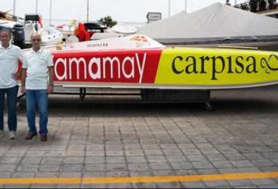 Un nuovo scafo per il team Carpisa Yamamay