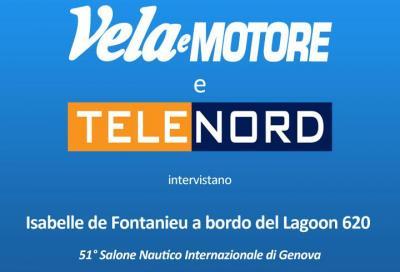 Isabelle Defontaneau di Lagoon intervistata da Vela e Motore